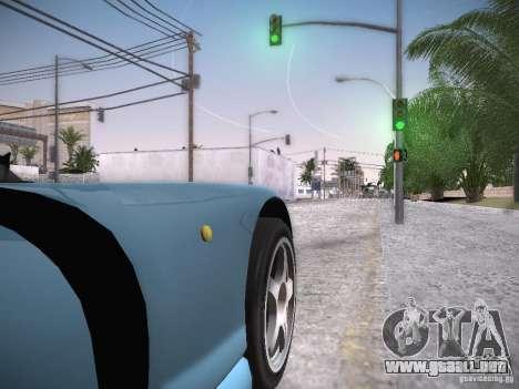 TVR Cerbera Speed 12 para GTA San Andreas vista hacia atrás