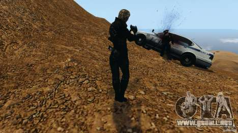 Bullet Time para GTA 4 adelante de pantalla