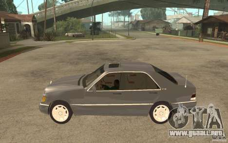 Mercedes-Benz S600 W140 para GTA San Andreas left
