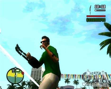 Las garras de un depredador para GTA San Andreas tercera pantalla