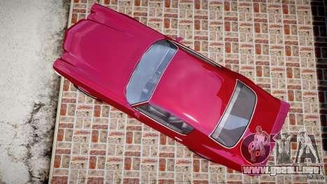 Chevrolet Camaro Z28 para GTA 4 visión correcta