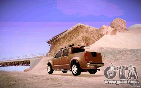 Nissan Fronter para la visión correcta GTA San Andreas