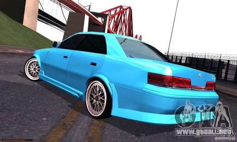 Toyota Mark II Tuning para GTA San Andreas left