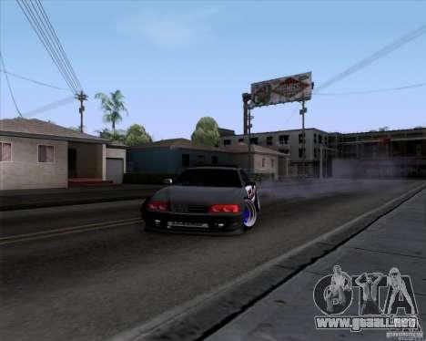 Toyota Chaser jzx100 Drift Police para la visión correcta GTA San Andreas