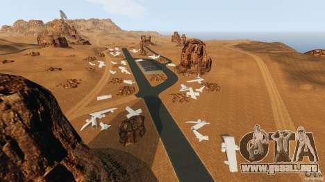Red Dead Desert 2012 para GTA 4 adelante de pantalla