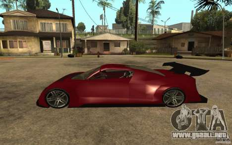 Seat Cupra GT para GTA San Andreas left