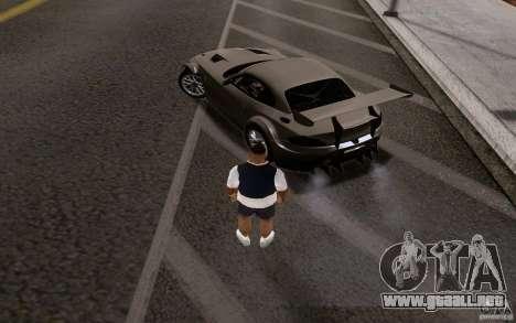 Autos clásicos en venta hacia fuera para GTA San Andreas séptima pantalla