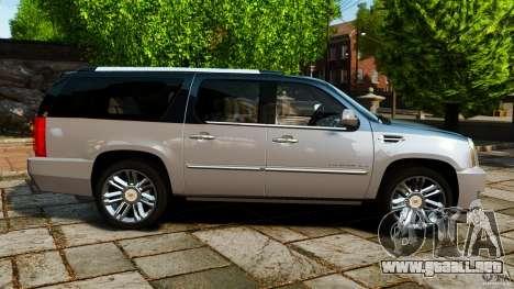 Cadillac Escalade ESV 2012 para GTA 4 left