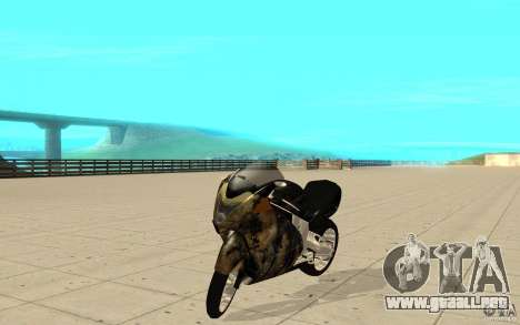 GTAIV TLAD Hakuchou Custom Version [paintjob] para GTA San Andreas