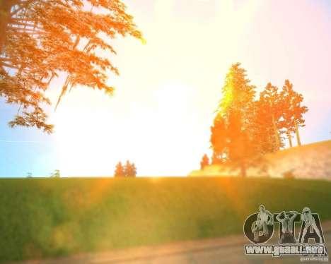 Real World ENBSeries v3.0 para GTA San Andreas segunda pantalla