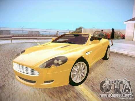Aston Martin DB9 Volante v.1.0 para GTA San Andreas