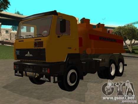 Super MAZ MAZ, 5551 para la visión correcta GTA San Andreas