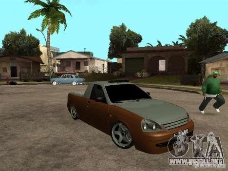 LADA 2170 Pickup para GTA San Andreas