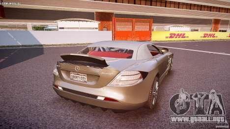 Mercedes Benz SLR McLaren 722s 2005 [EPM] para GTA 4 vista desde abajo
