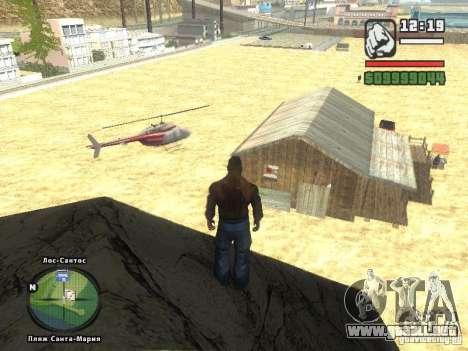 Nuevo Beach bar Verona para GTA San Andreas segunda pantalla