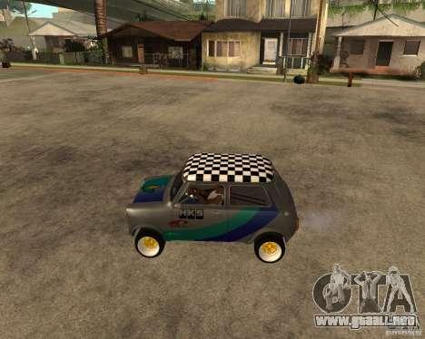 Mini Cooper para GTA San Andreas left