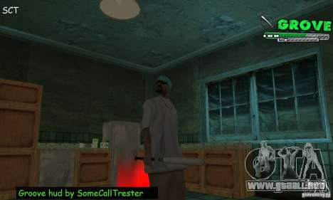 Grove Hud By SCT para GTA San Andreas
