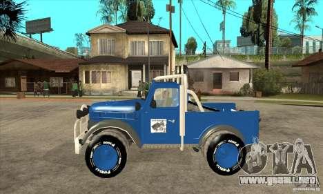Aro M461 - Offroad Tuning para GTA San Andreas left