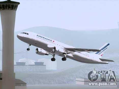 Airbus A320-211 Air France para el motor de GTA San Andreas