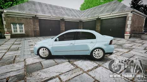 Volkswagen Voyage Comfortline para GTA 4 left