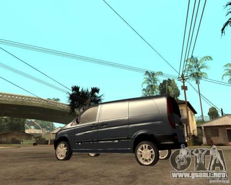 Mercedes-Benz Vito 2009 para GTA San Andreas left