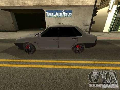 VAZ 21099 Turbo para GTA San Andreas left