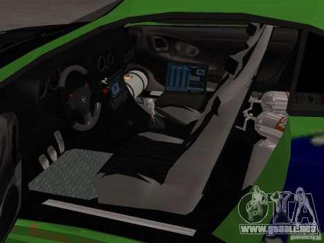 Mitsubishi Eclipse Tunable para vista lateral GTA San Andreas