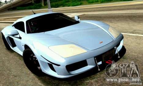 Noble M600 para el motor de GTA San Andreas