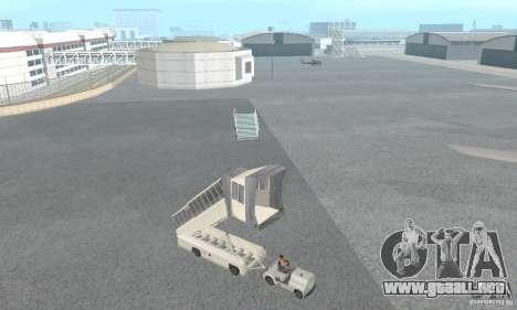 Airport Vehicle para GTA San Andreas séptima pantalla