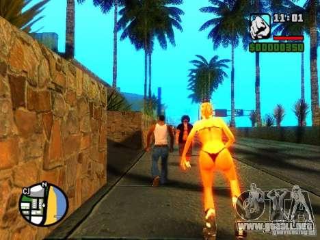 Texturas de East Beach para GTA San Andreas sexta pantalla