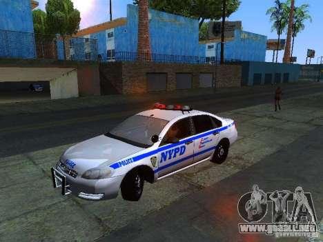 Chevrolet Impala NYPD para GTA San Andreas