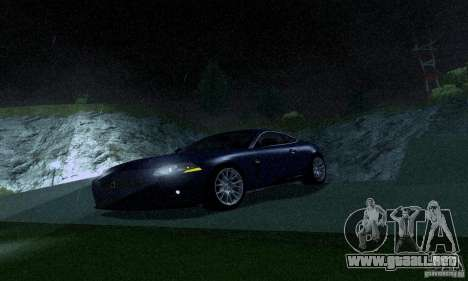 Jaguar XKRS para GTA San Andreas left