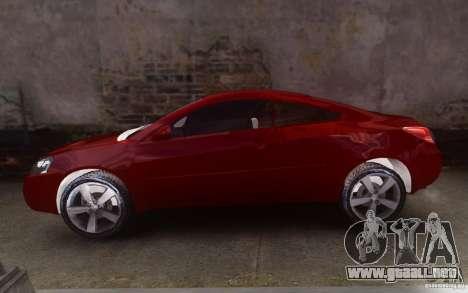 Pontiac G6 para GTA 4 left