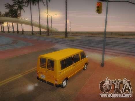 Renault Trafic T1000D Minibus para visión interna GTA San Andreas