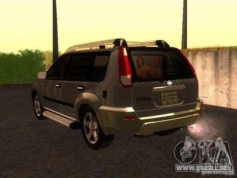 Nissan X-Trail para GTA San Andreas left