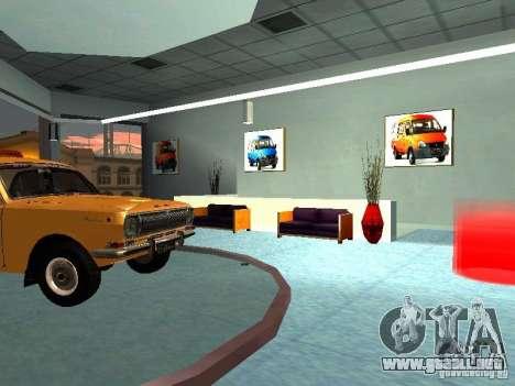 Gaz para GTA San Andreas quinta pantalla
