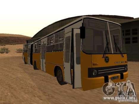 IKARUS 280.46 para GTA San Andreas vista posterior izquierda