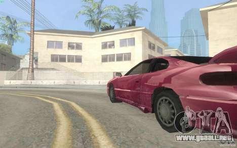 New Alpha para GTA San Andreas vista hacia atrás