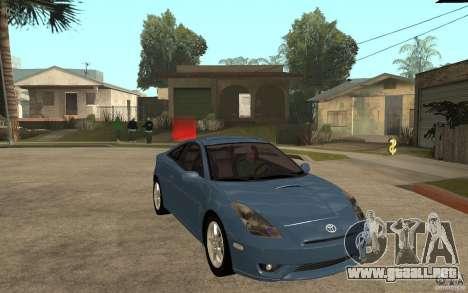 Toyota Celica SS2 para GTA San Andreas vista hacia atrás