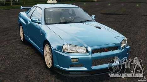 Nissan Skyline GT-R R34 2002 v1.0 para GTA 4