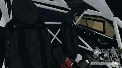 Mitsubishi Montero EVO MPR11 2005 v1.0 [EPM] para GTA 4 vista interior