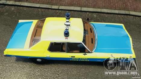 Dodge Monaco 1974 Police v1.0 [ELS] para GTA 4 visión correcta
