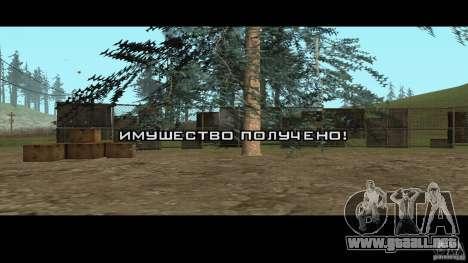 Realista apiario v1.0 para GTA San Andreas segunda pantalla