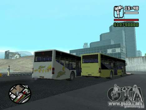 LAZ InterLAZ 12 para visión interna GTA San Andreas