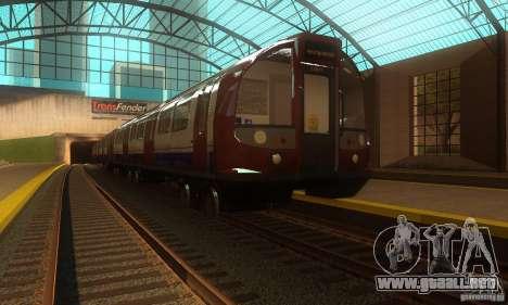 London Metro para GTA San Andreas