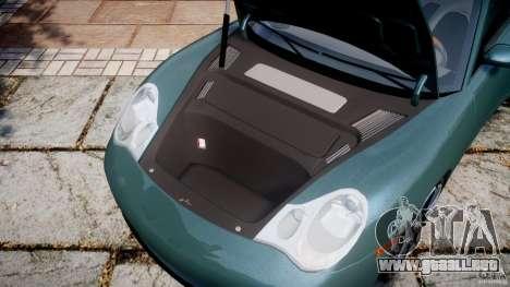 Porsche 911 (996) Carrera 4S para GTA 4 vista interior