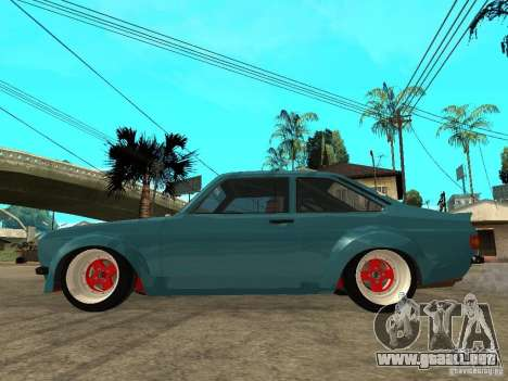 Ford Escort Mk2 para GTA San Andreas left