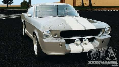 Shelby GT 500 Eleanor v2.0 para GTA 4