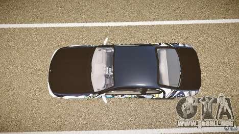 Nissan Silvia S15 Drift v1.1 para GTA 4 vista hacia atrás