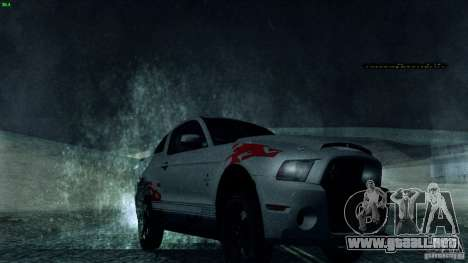 Direct R v1.0 para GTA San Andreas segunda pantalla